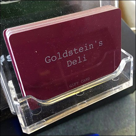 Give A Goldsteins Deli Gift Card To Someone